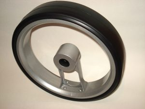 caddycool Einspeichenrad Aluminium