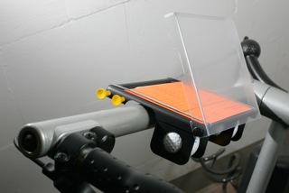 Scorekartenhalter für caddycool Golf Trolley