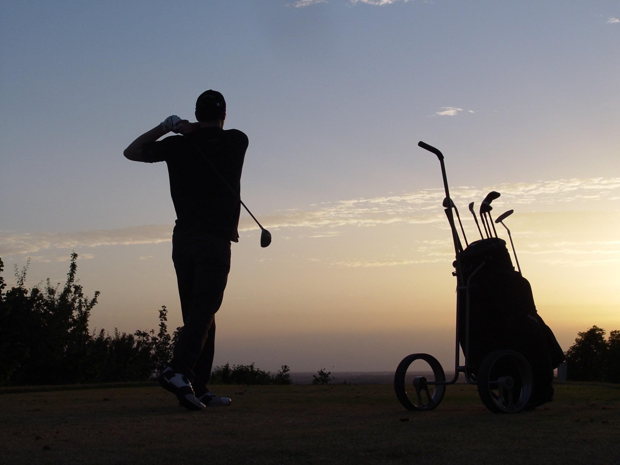 Edelstahl Golf Trolley Ferro