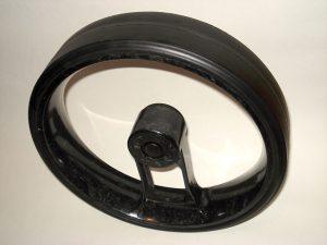 caddycool Einspeichenrad Carbon Schwarz